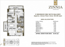 82sqm  Zinnia Towers Condo 5.8M Quezon city near SM Malls