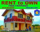 Rent to Own House and lot Cavite Imus COMPLETE with parking