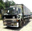 JAPAN SURPLUS 10 wheeler fuso wing van