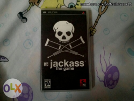 PSP Games: Jackass The Game UMD, NBA 2007 UMD