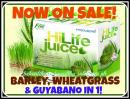 HI life Juice- Barley, Wheat grass and Guyabano- Lowest Price