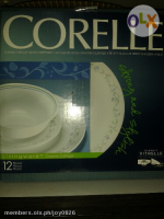 Authentic Corelle 12 pc Dining Plate Set