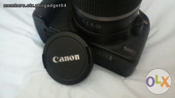 Canon Dslr, 500D- 18-55mm Kitlens,15megapixel,video Recorder