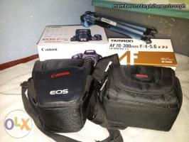 Canon EOS kiss X4 (550d) + zoom lens complete, like new